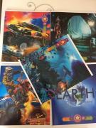 Оживи героя картинки на обложке «живой» тетрадки