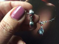 Серьги с бриллиантами 2.4 карата